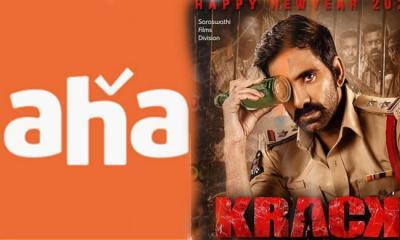 Ravi Teja Krack Movie Is Streaming On aha